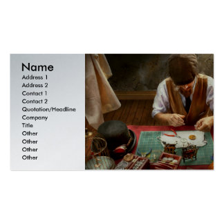 Clockmaker - A demonstration in Horology Double-Sided Standard Business Cards (Pack Of 100)