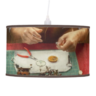 Clockmaker - A demonstration in Horology Ceiling Lamp