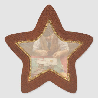Clockmaker - A demonstration in Horology Star Sticker