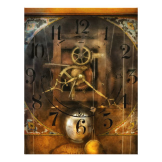 Clockmaker - A sharp looking time piece Full Color Flyer