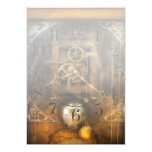 """Clockmaker - A sharp looking time piece 5"""" X 7"""" Invitation Card"""