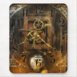 Clockmaker - A sharp looking time piece Mouse Pad