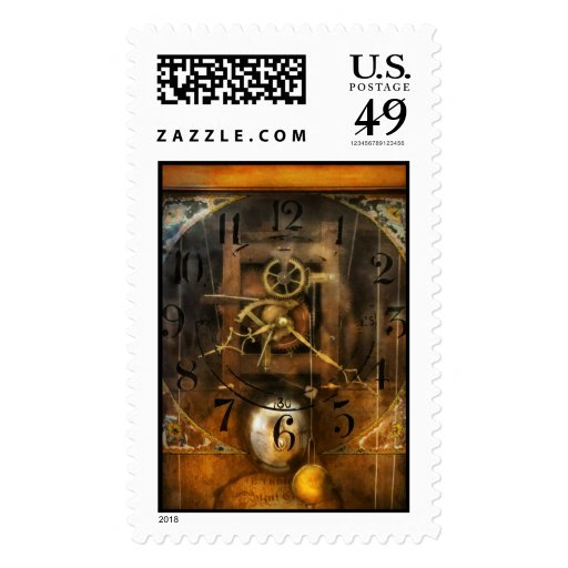 Clockmaker - A sharp looking time piece Postage Stamp