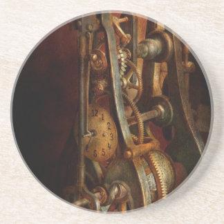 Clockmaker - Careful, I bite Drink Coasters