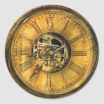 Clockmaker - Clock Works Classic Round Sticker