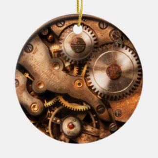 Clockmaker - Gears Ceramic Ornament