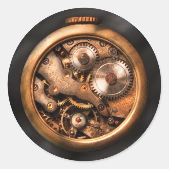 Clockmaker - Gears Classic Round Sticker
