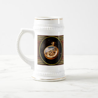 Clockmaker - Space time 18 Oz Beer Stein