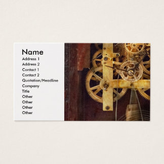 Clockmaker - The Mechanism Business Card