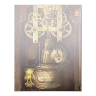 Clockmaker - The Mechanism 4.25x5.5 Paper Invitation Card