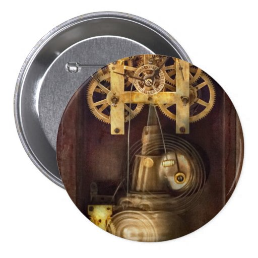 Clockmaker - The Mechanism Pinback Button