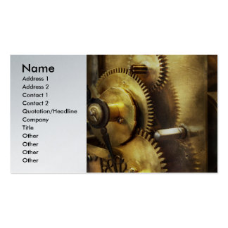Clockmaker - We all mesh Business Cards