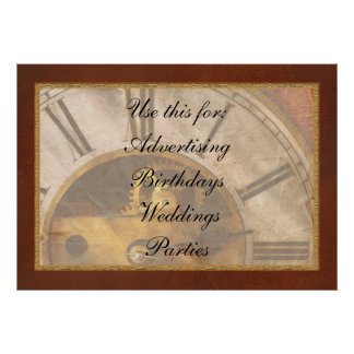 Clockmaker - What time is it Print