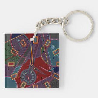 Clocks Keychain