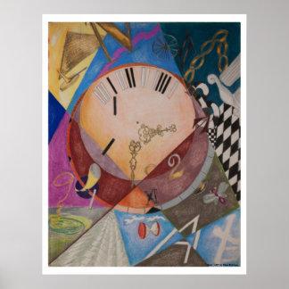 Clocks (print) poster