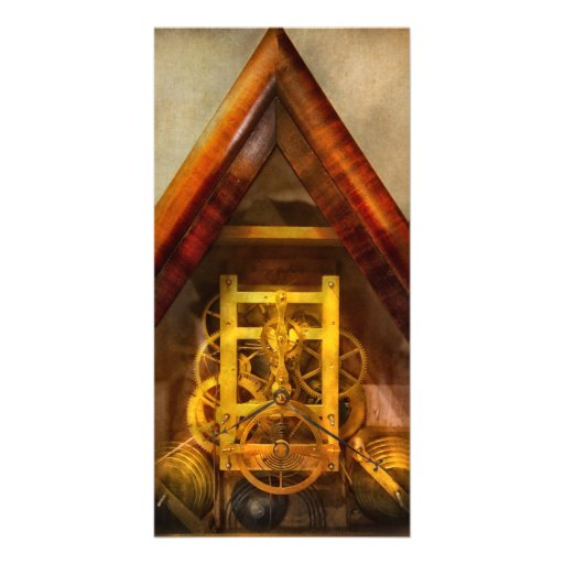 Clocksmith - Clockwork Photo Card