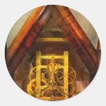 Clocksmith - mecanismo etiqueta redonda