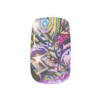 Clockwork acid fingertips minx® nail wraps