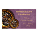 Clockwork and Leather, Double-Sided Standard Business Cards (Pack Of 100)