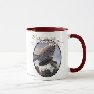 Clockwork Book - Finnegan's Airship Mug