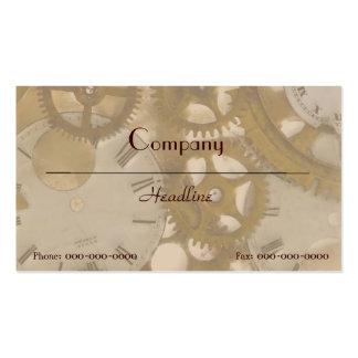 Clockwork Business Card