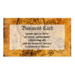Clockwork Collage Double-Sided Standard Business Cards (Pack Of 100)