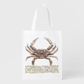 Clockwork Crab - Reusable Bag with Logo