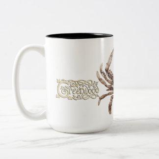 Clockwork Crab Two-Tone Mug
