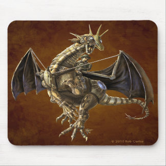 Clockwork Dragon Mousepad