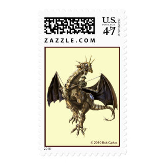 Clockwork Dragon Postage