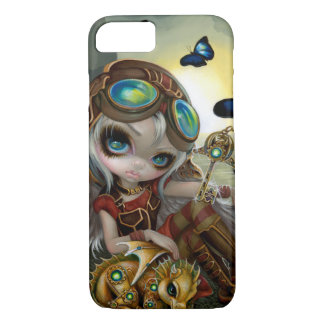 """Clockwork Dragonling"" iPhone 7 Case"