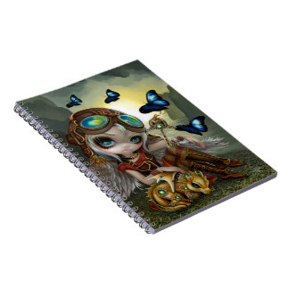 """Clockwork Dragonling"" Notebook"