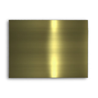 Clockwork Gold Envelope