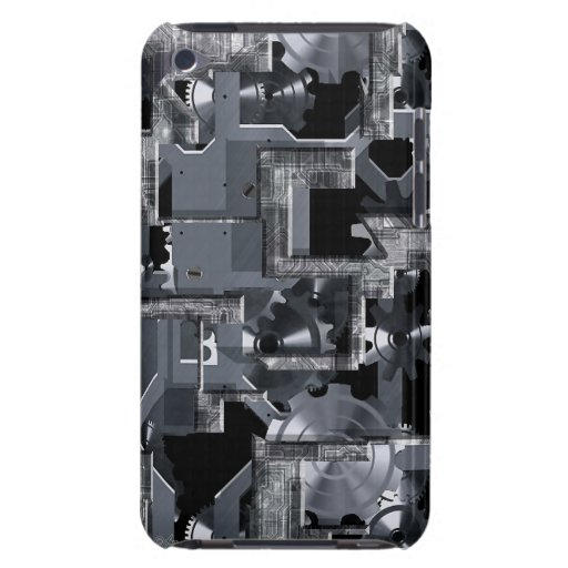 Clockwork Grey iPod Touch Cases