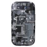 Clockwork Grey Samsung Galaxy SIII Cases