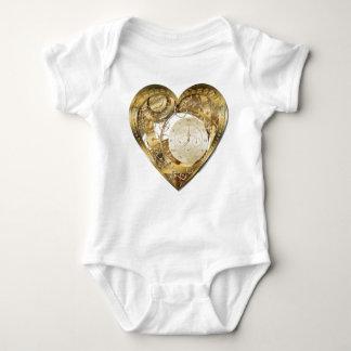 Clockwork heart baby bodysuit