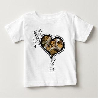 Clockwork heart design baby T-Shirt
