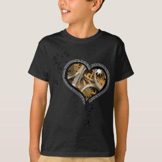 Clockwork heart design T-Shirt