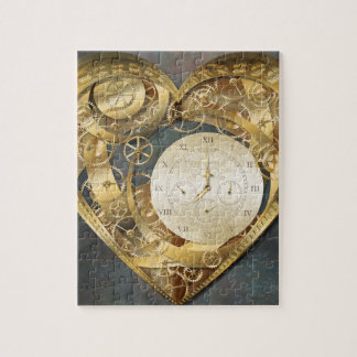 Clockwork Heart Jigsaw Puzzle