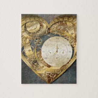 Clockwork Heart Jigsaw Puzzles