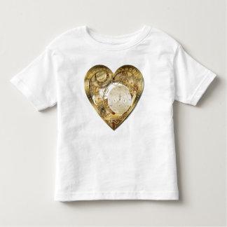 Clockwork heart toddler t-shirt