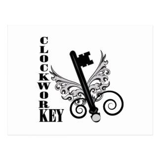 Clockwork Key Postcards