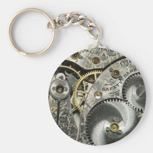 Clockwork Keychain
