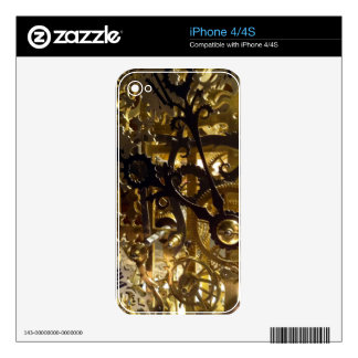 Clockwork Masterpiece iPhone 4S Decal