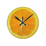 Clockwork Orange Round Wallclocks