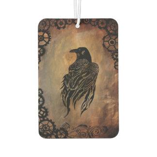 Clockwork Raven Air Freshener