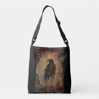 Clockwork Raven Crossbody Bag