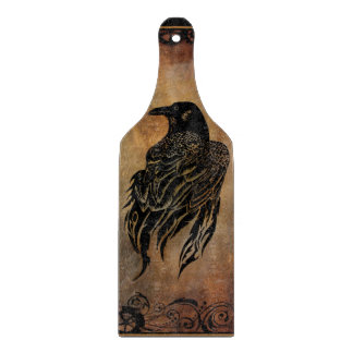 Clockwork Raven Cutting Boards