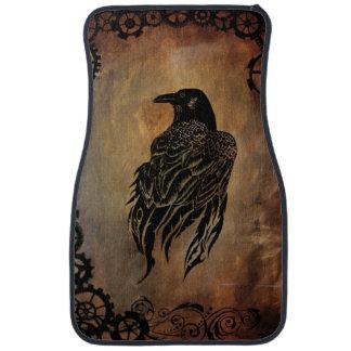 Clockwork Raven Floor Mat