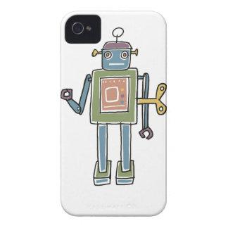 Clockwork Robot iPhone 4 Cover
